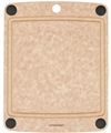 Epicurean All-in-One Natural Brown Cutting Board with Juice Groove 12 x 9
