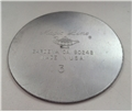 Round Cake Pan - 3 inch Bottom Disk Only
