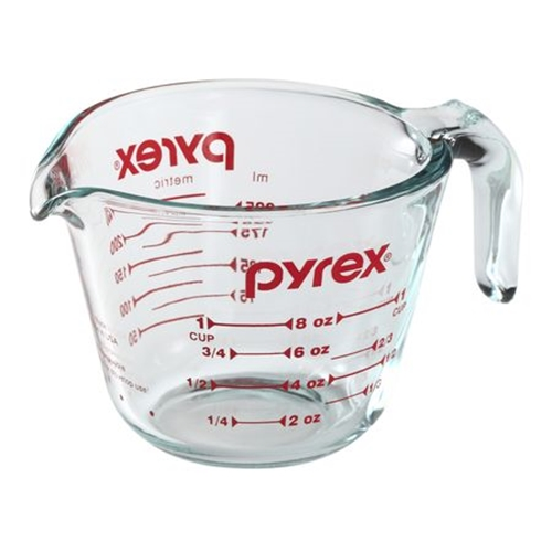 Glass 1 Cup Liquid Measuring Cup