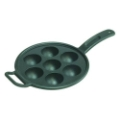 Aebleskiver Pan, Seasoned Cast Iron