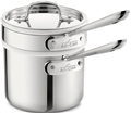 2 quart Stainless Sauce Pan with Double Boiler