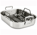 Roasting Pan - Stainless Steel Large with Rack - All-Clad