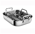 Roasting Pan - Stainless Steel Small with Rack - All-Clad
