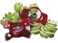 Apple Corer/Slicer - Adjustable Dial-A-Slice