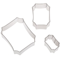 Cookie Cutter Set of 3 Plaques