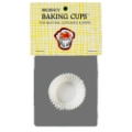 Baking Paper Liners - Mini Muffin Size in White Paper