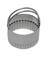 Stainless Fluted Biscuit Cutter 2.75 inches
