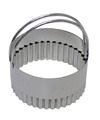 Stainless Fluted Biscuit Cutter 3.25 inches