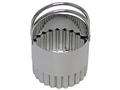 Stainless Fluted Biscuit Cutter 2 inches