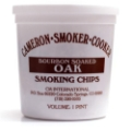 Smoking Fine Chips/Dust Bourbon-Soaked Oak