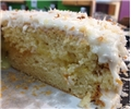 Coconut Layer Cake with Lemon Curd Filling