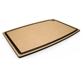 Epicurean Natural Brown Cutting Board with Slate Gray Core Juice Groove 27 x 18