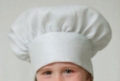 Child Size Chef Hat - White