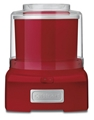 Ice Cream and Sorbet Maker - Red