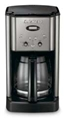 Cuisinart 12-cup Brew Central Programmable Coffee Maker - Black and Chrome