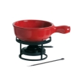 Fondue Set Red