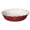 "Rouge Pie Dish 9"" (Red)"