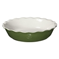 "Spring Pie Dish 9"" (Green)"