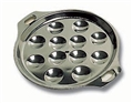 Escargot Dish - Stainless Steel