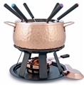 Swissmar Meat Fondue Set - Copper-Plated Stainless Steel