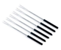 Fondue Forks with 2 Tines - Set of 6