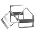 Gingerbread House Cutter Set Small