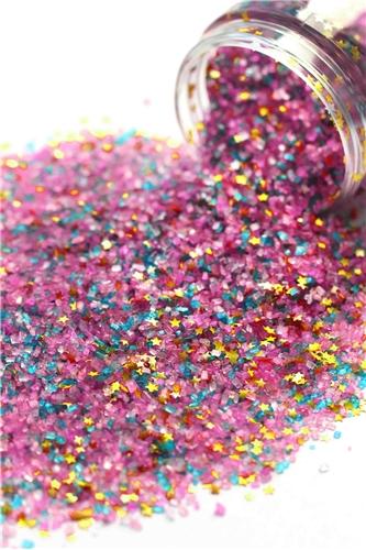 Fancy Sprinkles - Golden Birthday Fancy Glitter Sugar