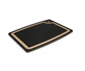 Epicurean Slate Gray Cutting Board with Natural Brown Core Juice Groove 15 x 11