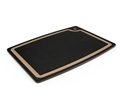 Epicurean Slate Gray Cutting Board with Natural Brown Core Juice Groove 18 x 13