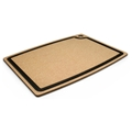 Epicurean Natural Brown Cutting Board with Slate Gray Core Juice Groove 20 x 15