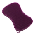 Stay Clean Silicone Scrubber - Purple