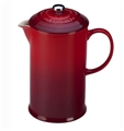 French Press - Le Creuset Cherry Stoneware
