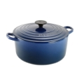 Cobalt Blue 4.5 Quart Round Dutch Oven