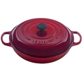 Cherry Red 5 quart Braiser Signature