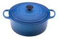 Marseille Blue 9 quart Round Dutch Oven Signature