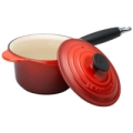 Cherry Red Signature Saucepan 1.75 quart