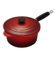 Cherry Red Precision Saucepan 2.25 quart