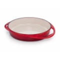 Cherry Red Tarte Tatin Pie Dish