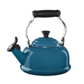 Le Creuset Classic Whistling Tea Kettle - Deep Teal
