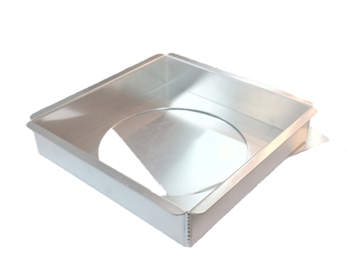 Square Cake Pan With Removable Bottom 10 X 10 X 2