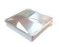 Square Cake Pan with Removable Bottom - 10 x 10 x 2