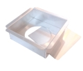 Square Cake Pan with Removable Bottom - 8 x 8 x 2