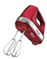 7-Speed Hand Mixer - Metallic Red