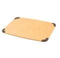 Epicurean Natural Brown Cutting Board with Brown Non-Slip Corners 15 x 11