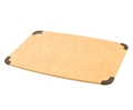 Epicurean Natural Brown Cutting Board with Brown Non-Slip Corners 18 x 13