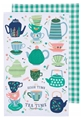 Now Designs Kitchen Towels - Perfect Cuppa - set of two