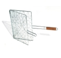 Barbecue Grill Basket Flex with Rosewood Handle