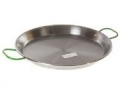 "Carbon Steel 15-3/8"" Paella Pan"