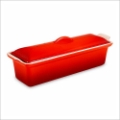 Cherry Red Pate Terrine Mold