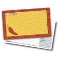 3x5 Recipe Cards and Protectors - Chiles